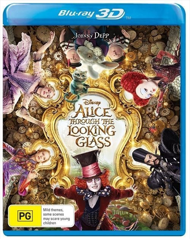 Alice Through Looking Glass | Blu-ray 3D