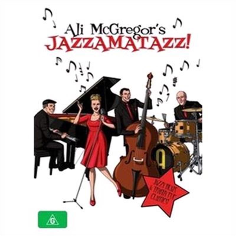 Jazzamatazz Live - Ali Mcg | DVD