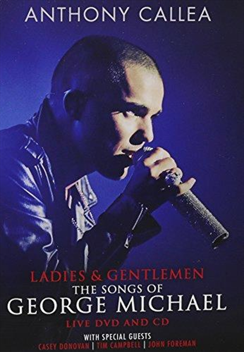 Ladies and Gentleman The Songs Of George Michael | CD/DVD
