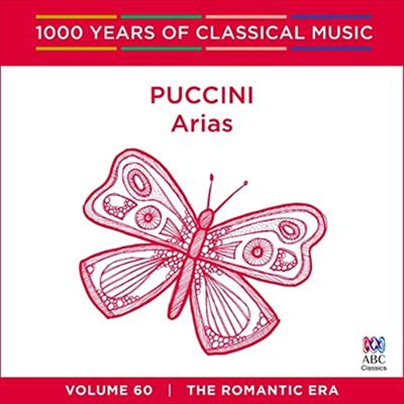 Puccini Arias (1000 Years Of Classical Music, Vol 60) | CD