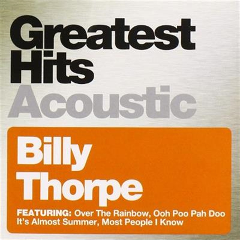 Greatest Hits Acoustic | CD
