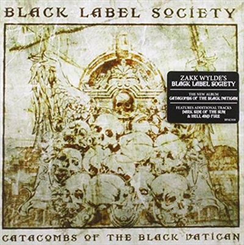 Catacombs Of The Black Vatican | CD