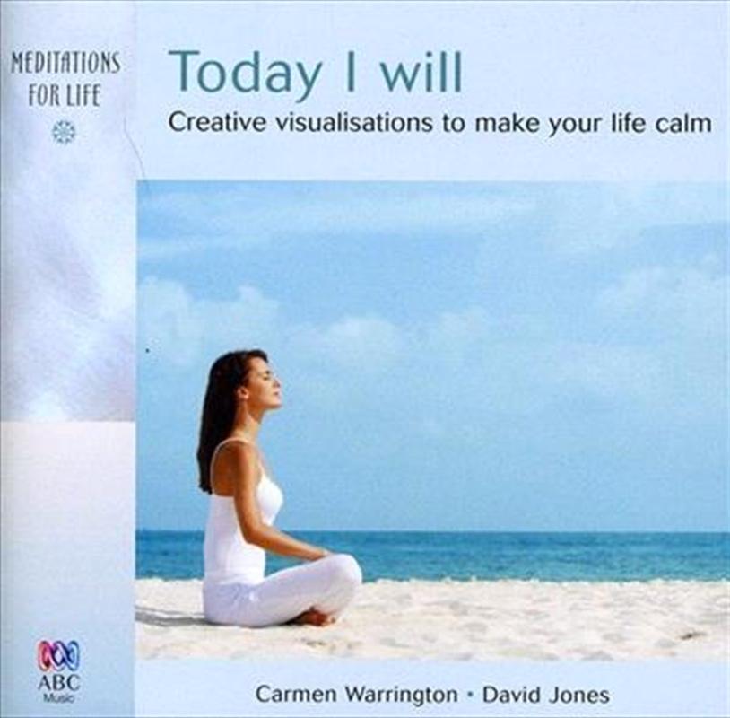 Today I Will | CD
