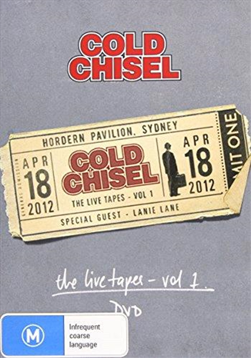 Live Tapes Vol 1 Hordern Pavilion April 18 2012 | DVD