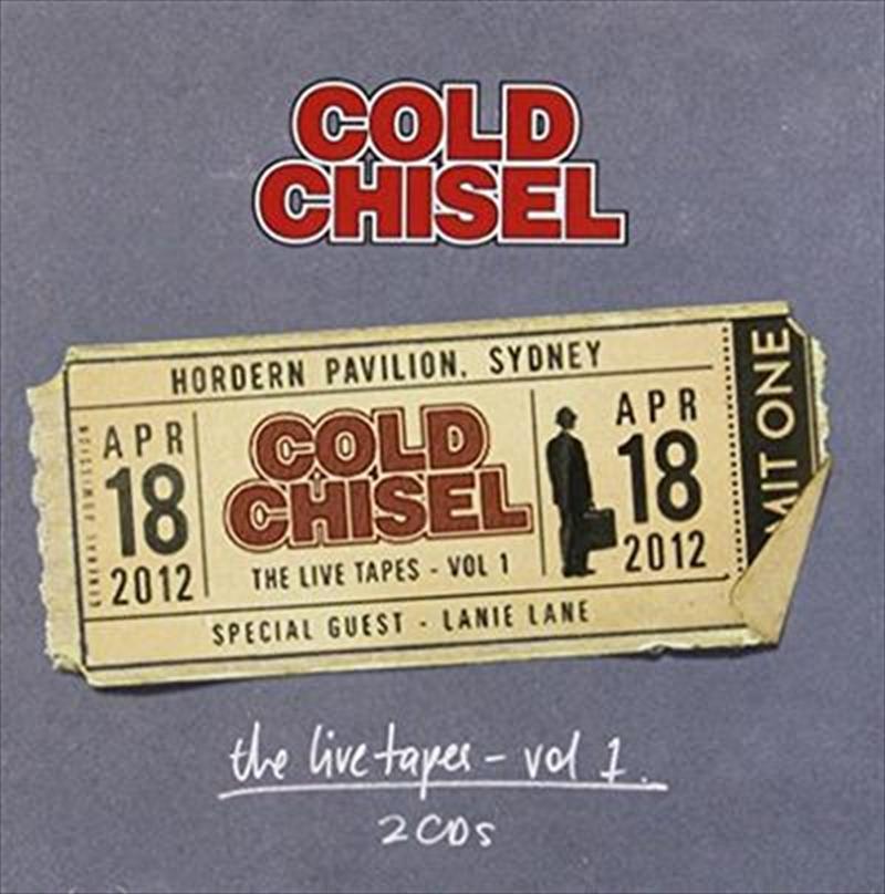 Live Tapes Vol. 1- Hordern Pavilion. April 18, 2012, The
