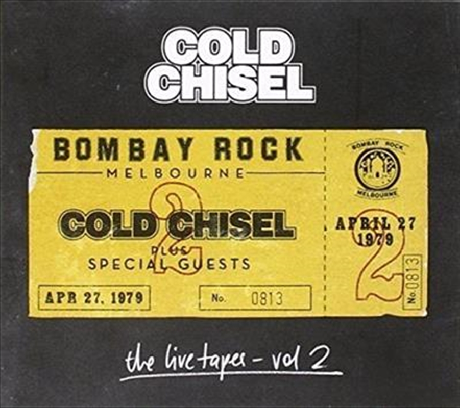 Live Tapes Vol 2- Live At Bombay Rock, April 27, 1979 | CD