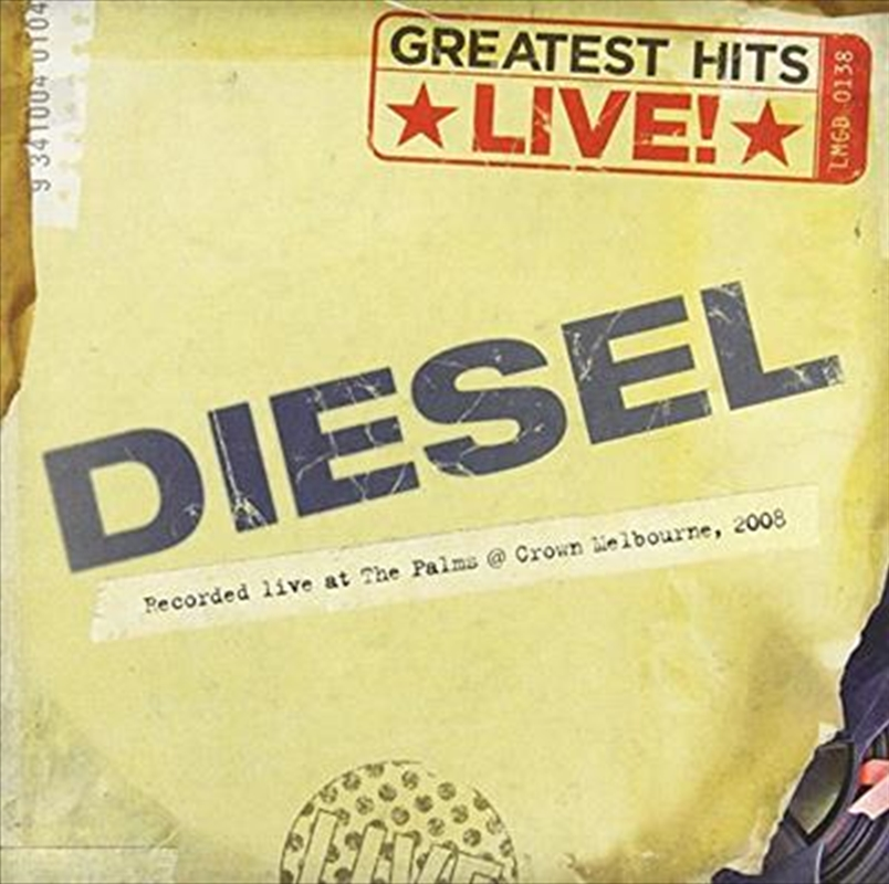 Greatest Hits Live | CD