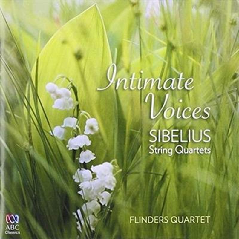 Intimate Voices – Sibelius String Quartets   CD