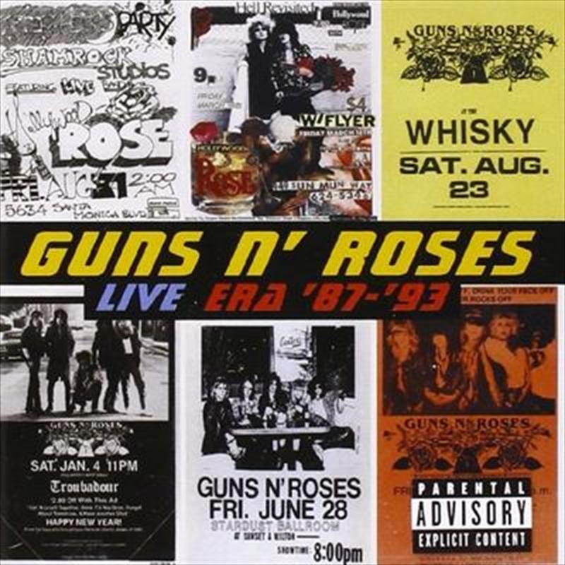 Live Era '87-'93 | CD