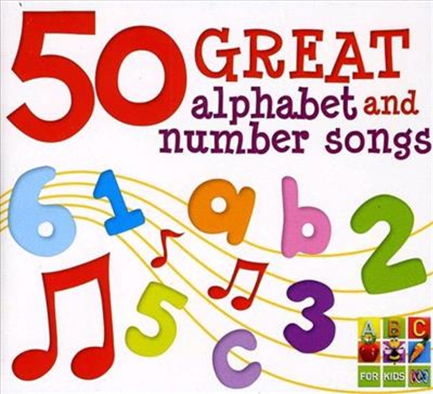 50 Great Alpha and Number Songs | CD
