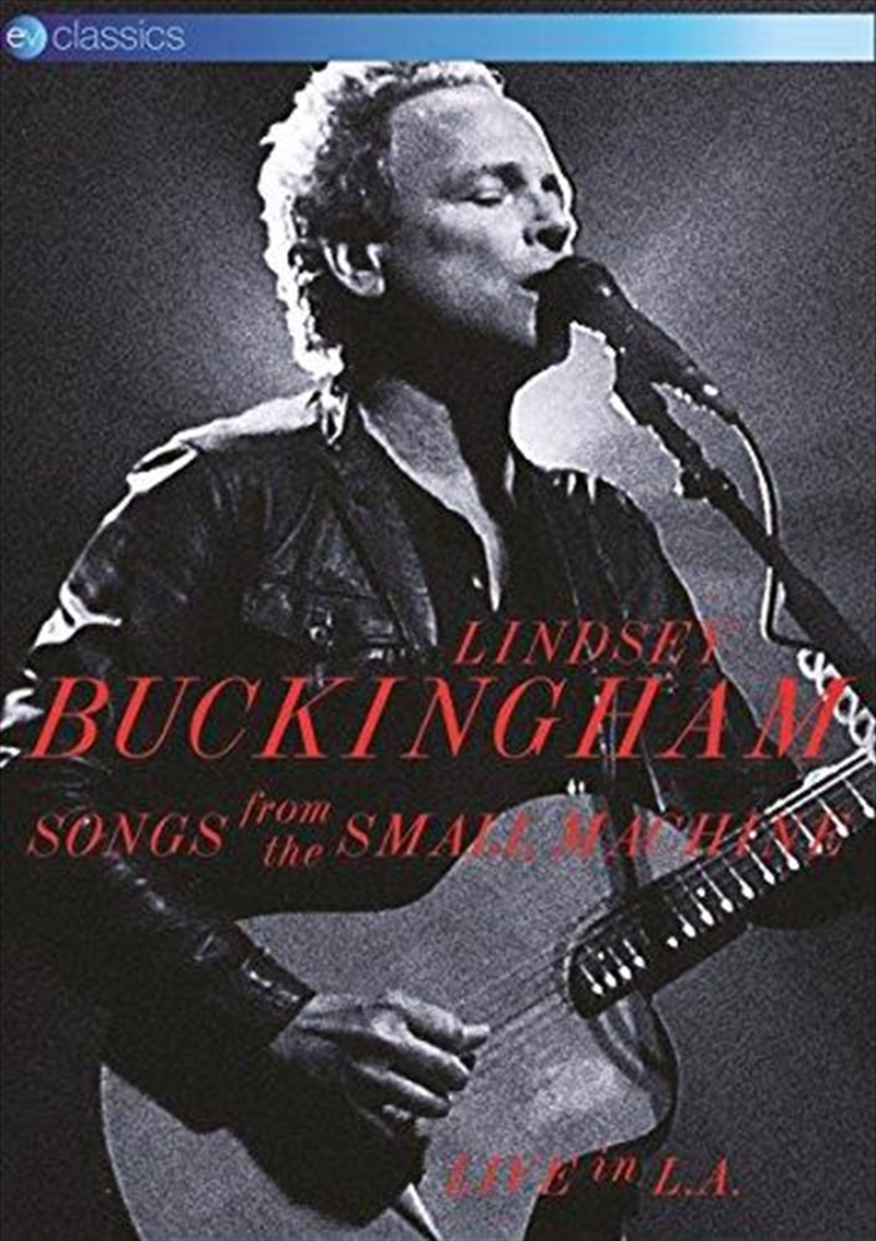 Songs From The Small Machine - Live In La   DVD