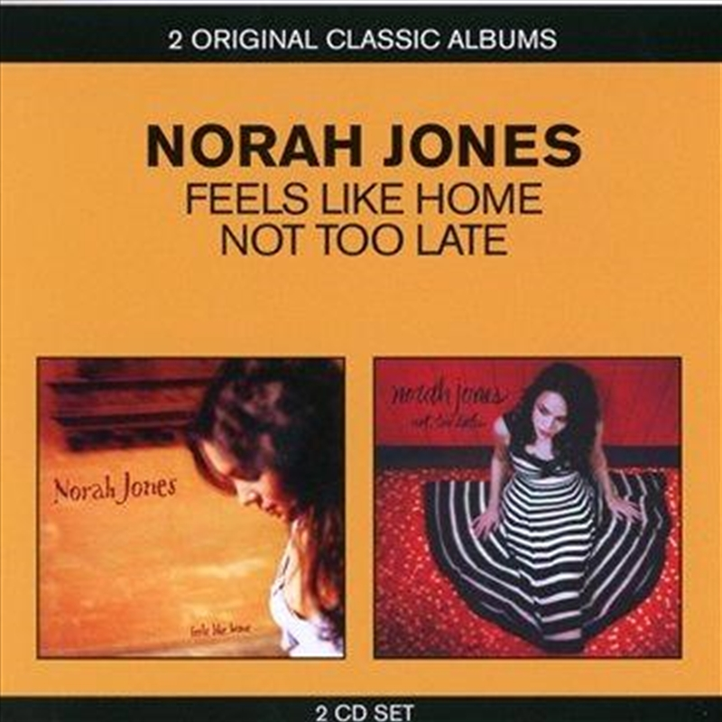 Not Too Late / Feels Like Home | CD