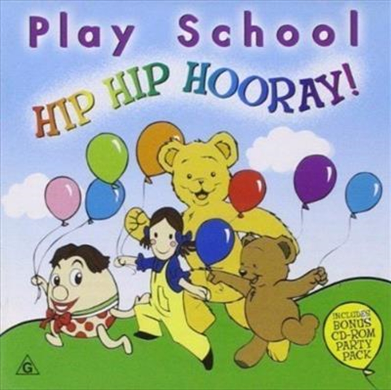 Hip Hip Hooray | CD
