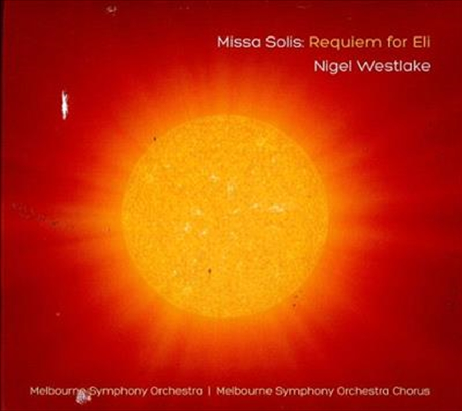 Missa Solis- Requiem For Eli | CD