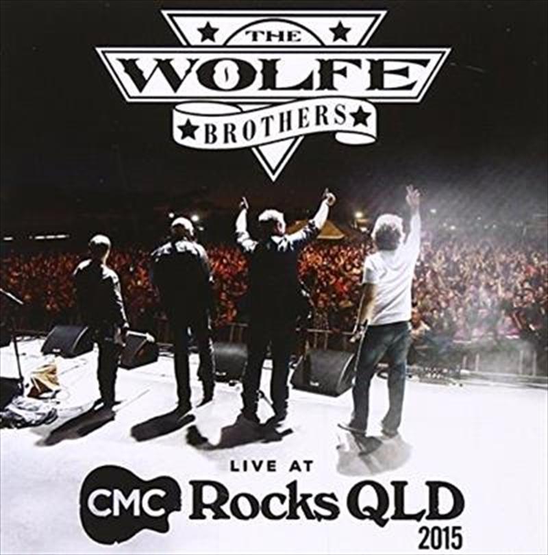 Live At Cmc Rocks Qld 2015 | CD/DVD