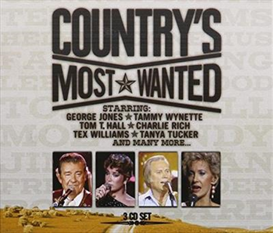 Country's Most Wanted | CD