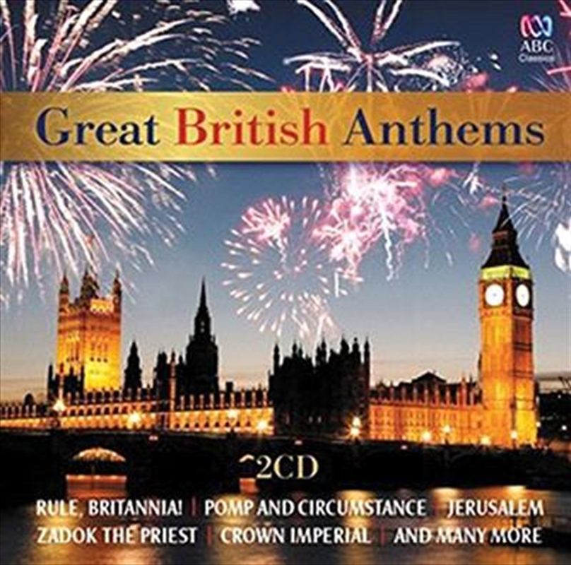 Handel, George Frideric- Great British Anthems | CD