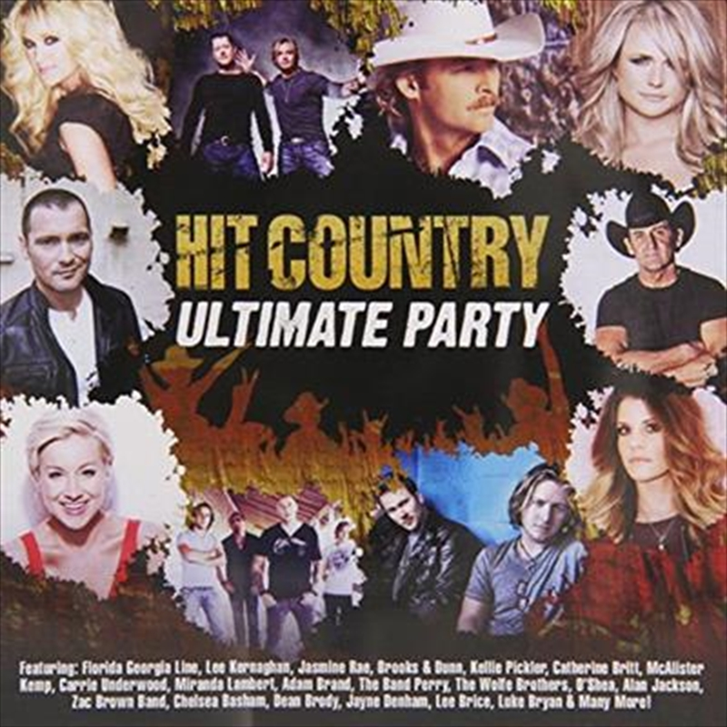 Hit Country Ultimate Party | CD