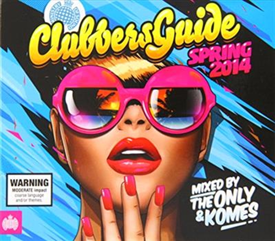 Clubber's Guide To Spring 2014 | CD