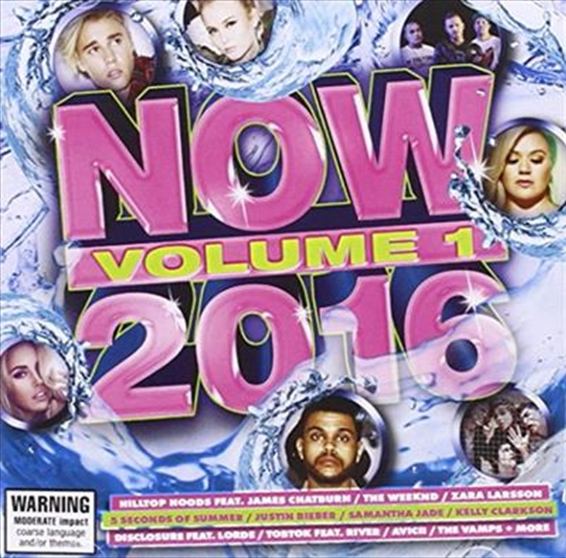 Now 2016 Vol 1 | CD