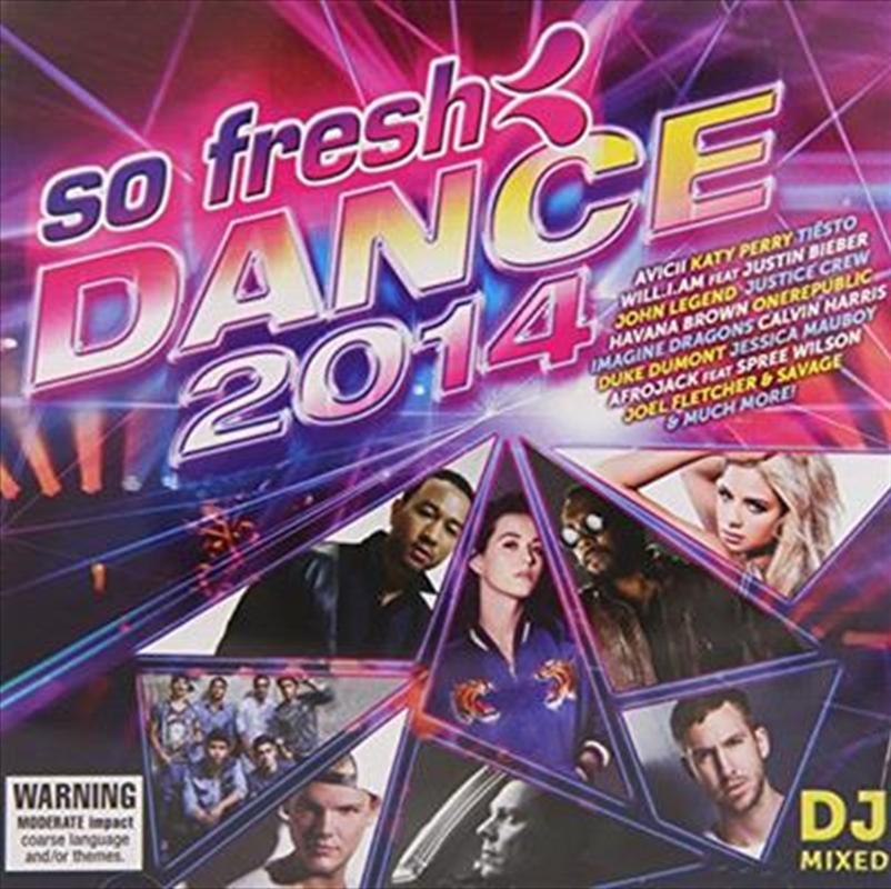 So Fresh Dance 2014 | CD