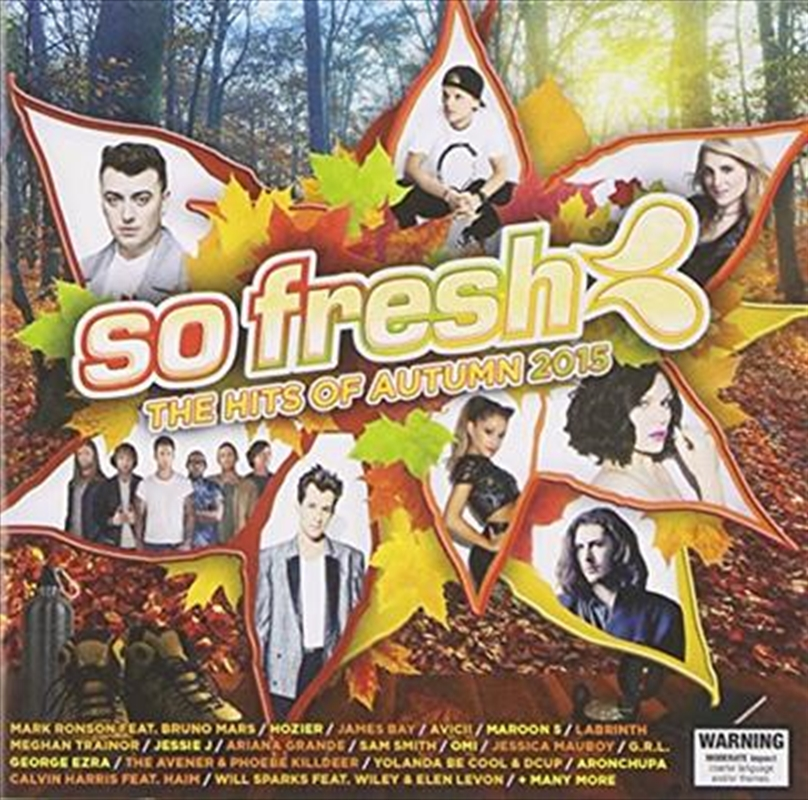 So Fresh - The Hits Of Autumn 2015 | CD