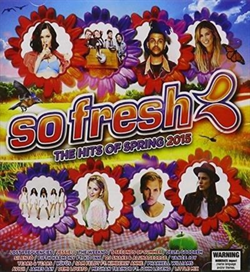 So Fresh- The Hits Of Spring 2015   CD