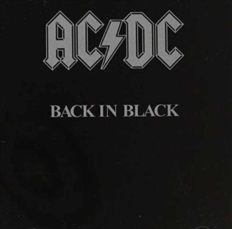 Back In Black | CD