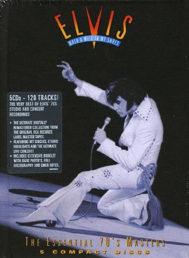 Walk A Mile In My Shoes- The Essential 70's Masters | CD