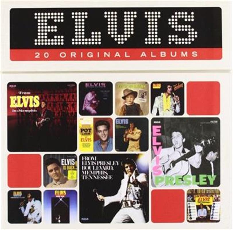 Elvis- 20 Original Albums