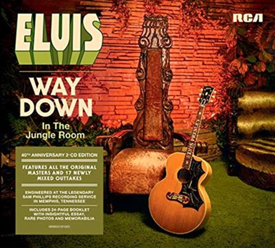 Way Down In The Jungle Room | CD