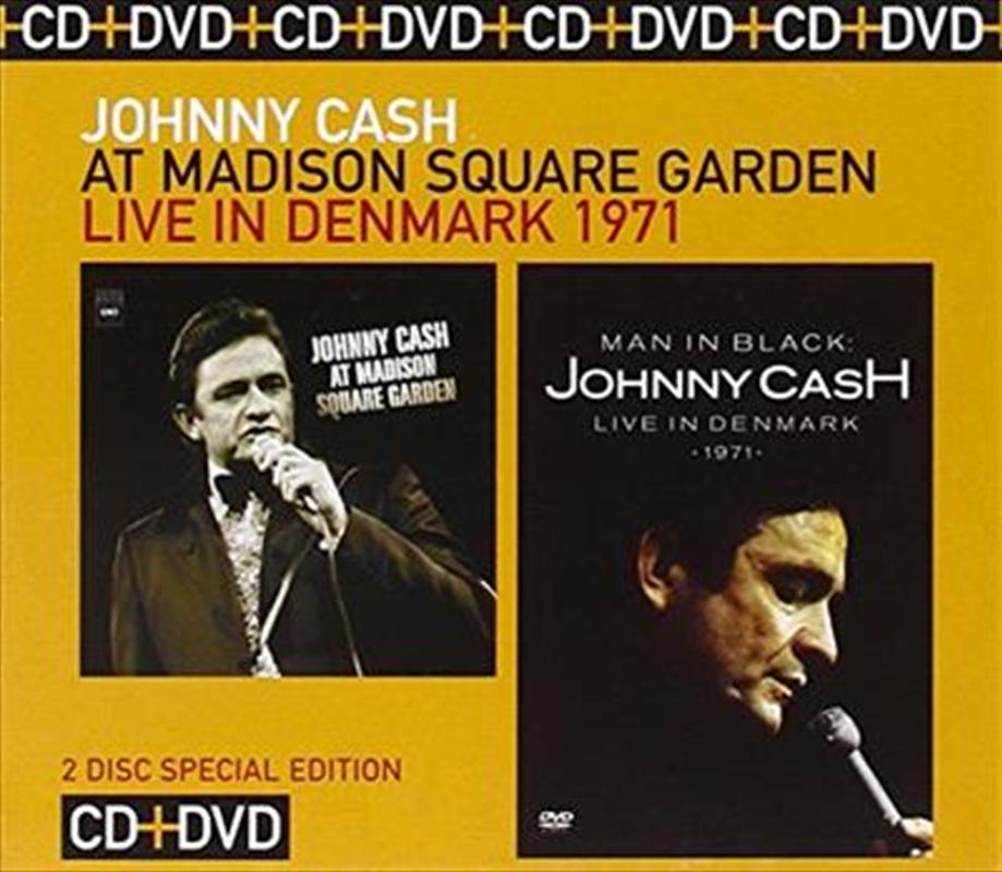 At Madison Square Garden/man In Black - Live In Denmark 1971 | DVD