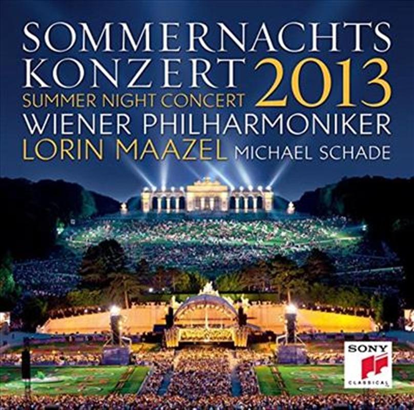 Sommernachtskonzert 2013 / Summer Night Concert 2013   CD