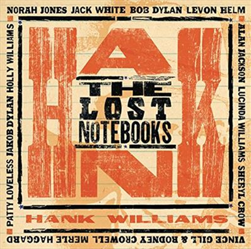 Lost Notebooks Of Hank Williams | CD