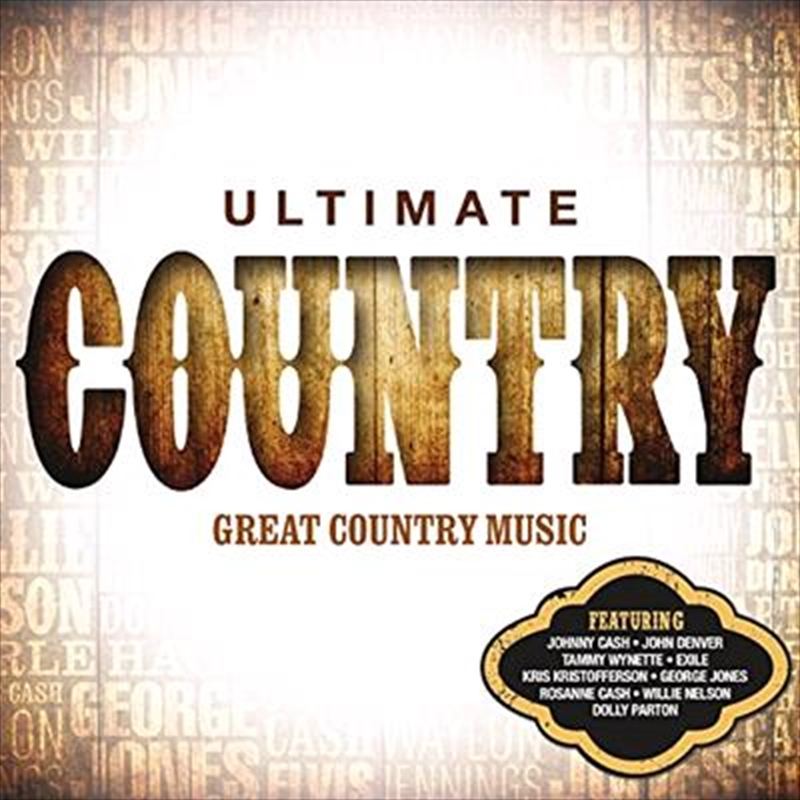 Ultimate Country | CD