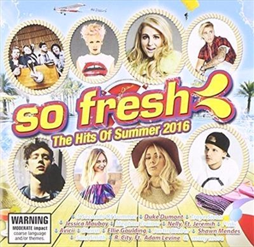 So Fresh - Hits Of Summer 2016 | CD