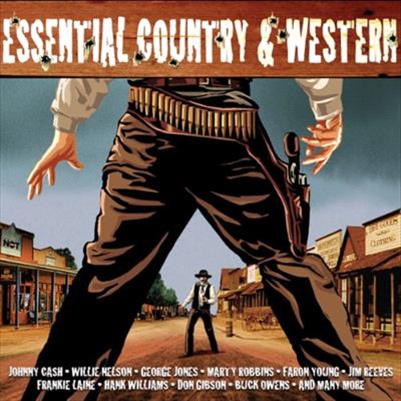 Essential Country and Western   CD