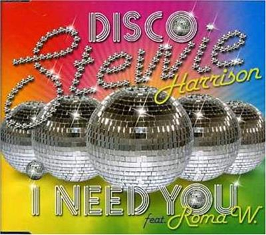 I Need You | CD Singles