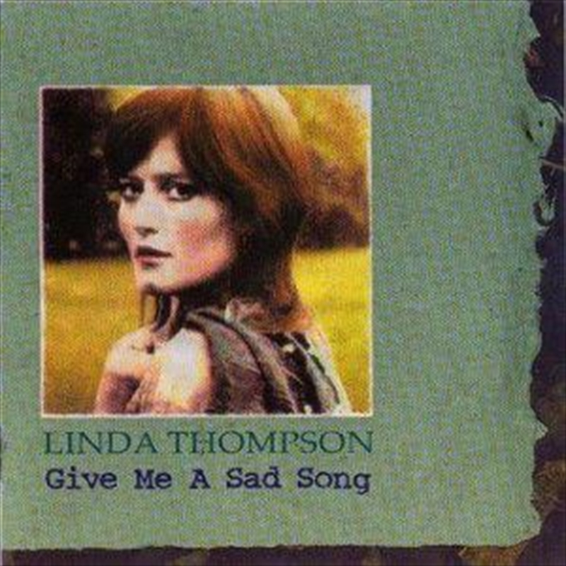 Give Me A Sad Song | CD
