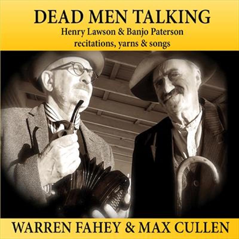 Dead Men Talking   CD