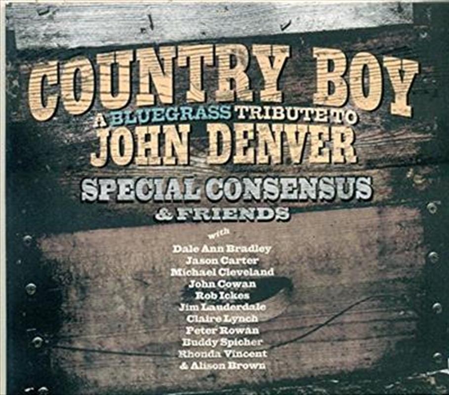 Country Boy A Bluegrass Tribute To John Denver | CD