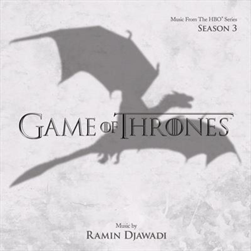 Game Of Thrones Season 3   CD