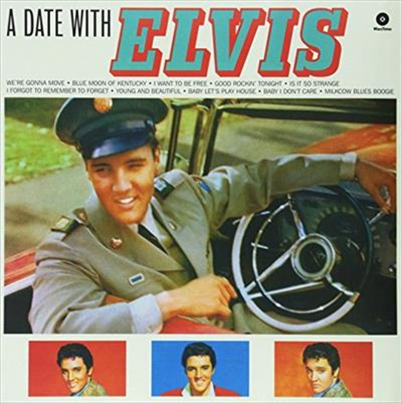 A Date With Elvis | Vinyl