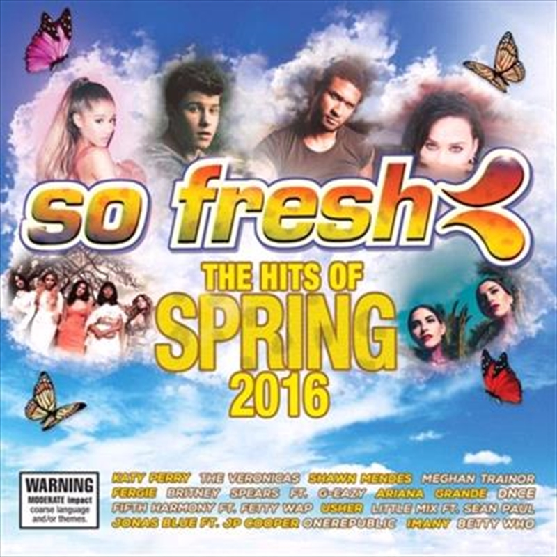 So Fresh- The Hits Of Spring 2016 | CD