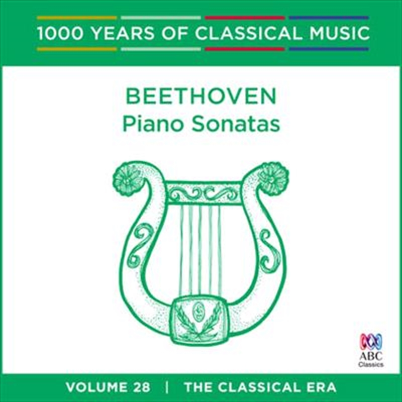Beethoven: Piano Sonatas (1000 Years Of Classical Music, Vol 28) | CD