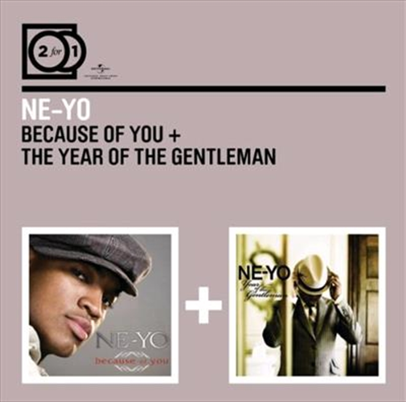 Because Of You The Year Of The Gentleman Urban Cd Sanity