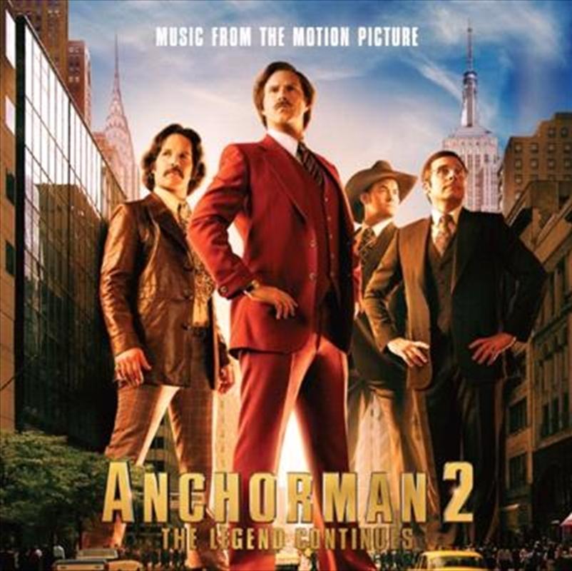 Anchorman 2- The Legend Continues   CD
