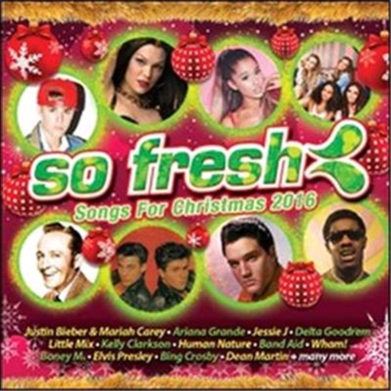 So Fresh Songs For Christmas 2016 | CD