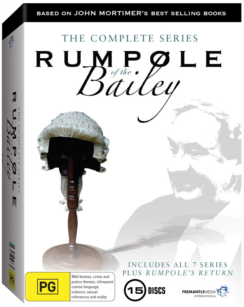 Rumpole Of The Bailey: The Complete Series