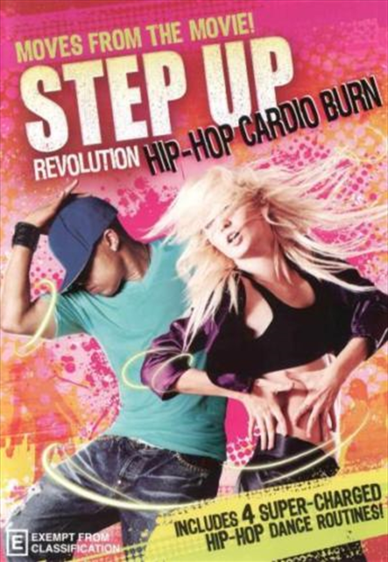 Step Up Hip Hop Cardio Burn | DVD